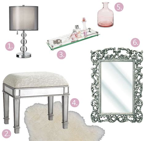 glam mirrored vanity stool glam bedroom pinterest 1000 images about glam vanity on pinterest vanities