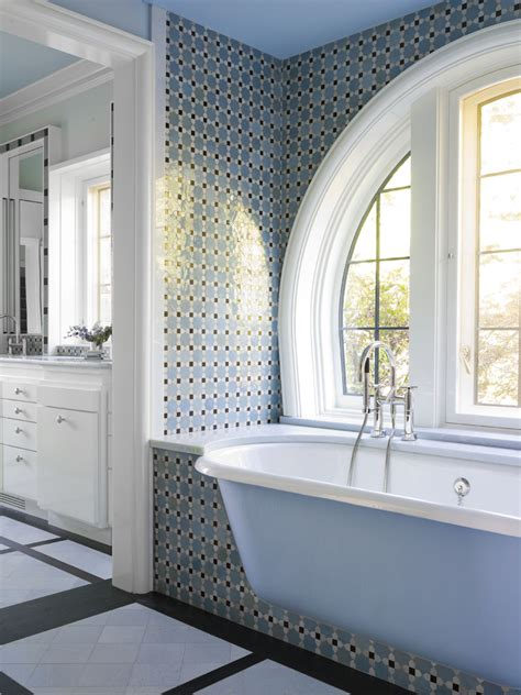 Bathroom tub tile ideas bathroom traditional with alcove arched windows built beeyoutifullife com