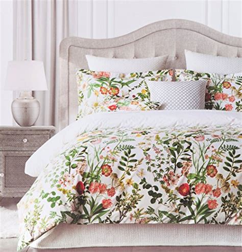 Beautiful Duvet Sets Vintage Botanical Wild Flower Print Duvet Quilt Cover By