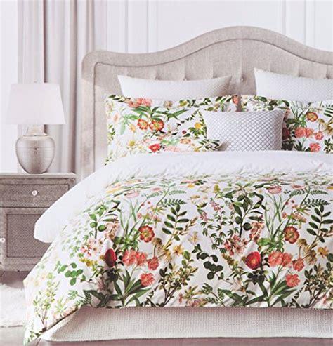 envogue bedding vintage botanical wild flower print duvet quilt cover by