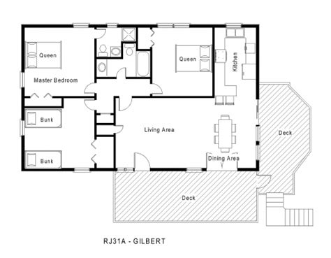 cottage floor plans one story small house design and one floor plan spaces house floor