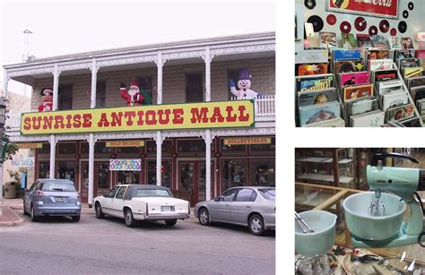 sunrise antique mall kerrville texas shop across texas