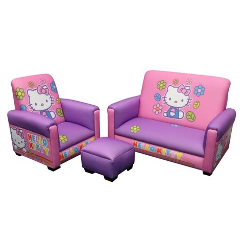 hello kitty kids sofa cutest hello kitty bedroom for girls