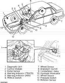 Brake System Service Traction Volvo 850 Abs Tracs Service Manual