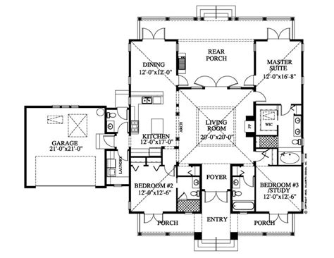 Small Plantation Home Floor Plans House In Hawaii House Plans