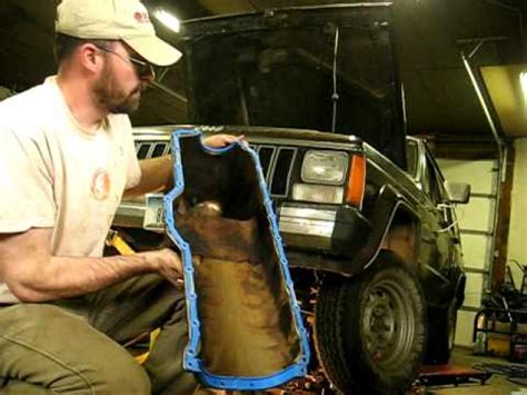Jeep 4 0 Removal Jeep 4 0 Rear Seal Part 2 Funnycat Tv
