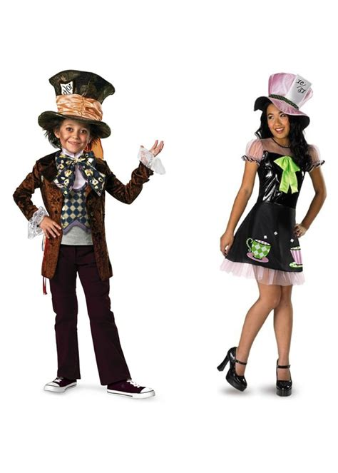 costume set mad hatter boys and costume set costumes