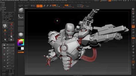 Tutorial Zbrush Seri 11 war machıne yapım aşaması zbrush tutorıal animasyon gastesi