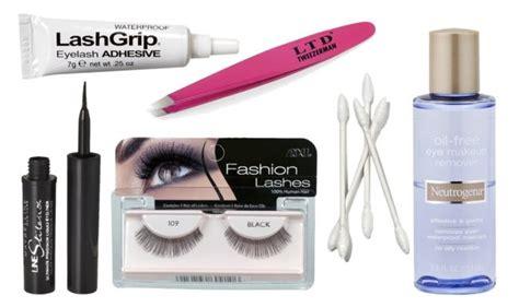 Eyelashes Vire Hide Original how to apply false eyelashes this tutorial makes it easy huffpost