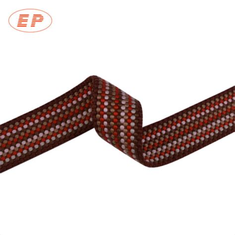 upholstery webbing straps reflective webbing 1 inch light cloth reflective webbing