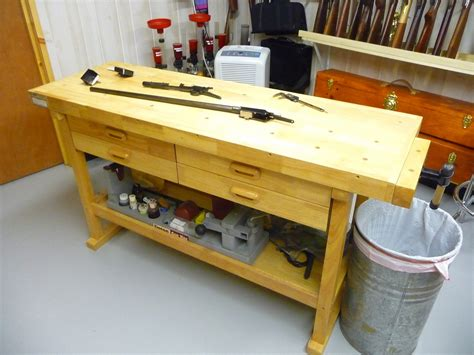 my new rifle cleaning bench paco kelly s leverguns com