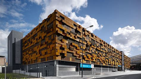 Parking Garage Design Layout manchester piccadilly multi storey car park