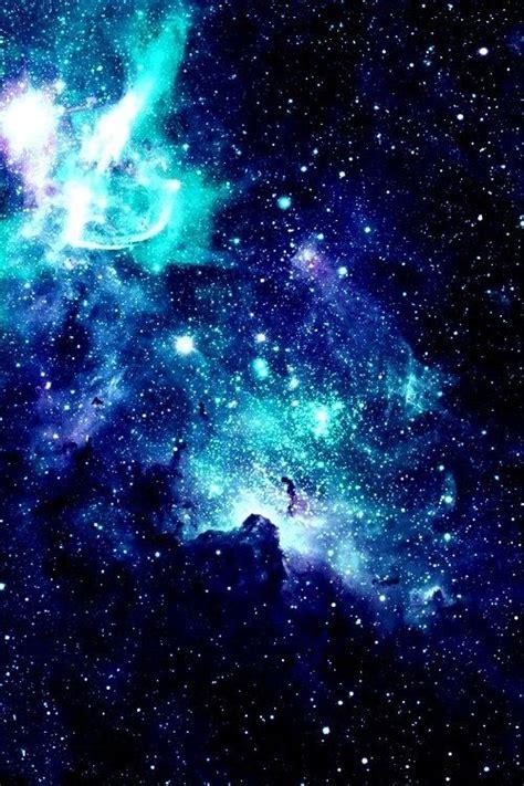 wallpaper blue we heart it we heart it 経由の画像 background blue cute galaxy glitter