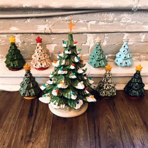 ceramic christmas tree painting ideas nov 3 vintage tree painting