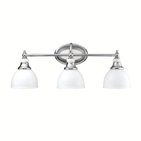 Kichler Bathroom Light Fixtures Kichler 5369ch Chrome Pocelona 24 Quot Wide 3 Bulb Bathroom Lighting Fixture Lightingdirect