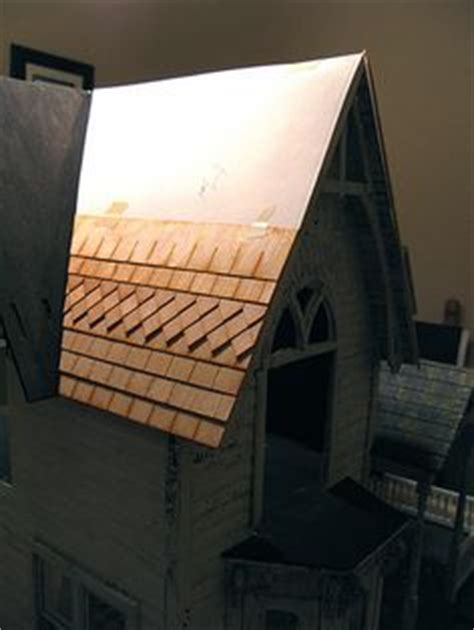 how to make dolls house roof tiles 1000 images about 12 roof tutorials on pinterest roof tiles miniature and slate roof