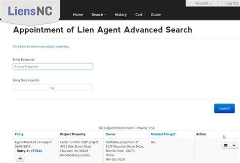 Carolina Property Ownership Records Advanced Property Search Murney Carolina Archives Tradition Lien Service
