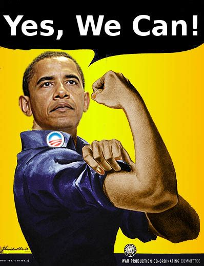 Yes We Can Meme - obama yes we can