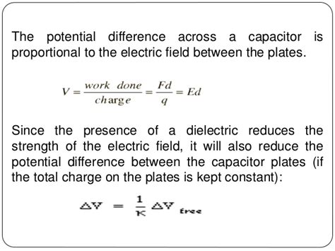 capacitor electric potential potential difference in series images
