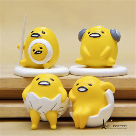 Home Decorating Stores free shipping 1pc gude lazy egg mini figure pvc toys