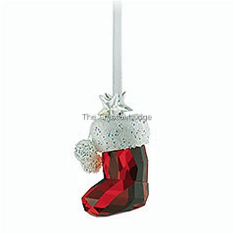 swarovski swarovski christmas ornament santa s stocking