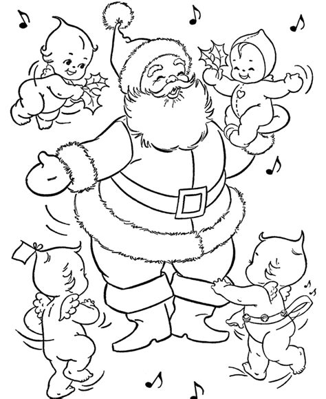 imagenes de santa claus para pintar papa noel para colorear pintar e imprimir