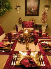 Christmas Table Setting by 301 Moved Permanently