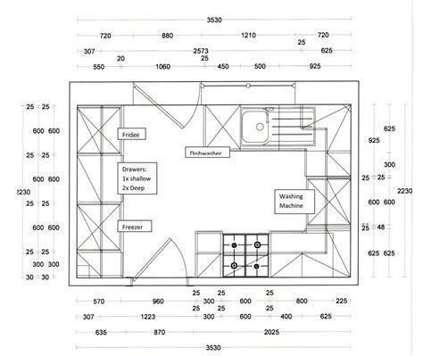 Basic Kitchen Dimensions   House Furniture