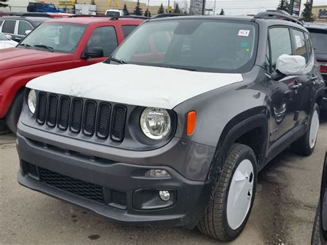 jeep renegade grey 2016 jeep renegade north 4x4 dark grey vaughan chrysler
