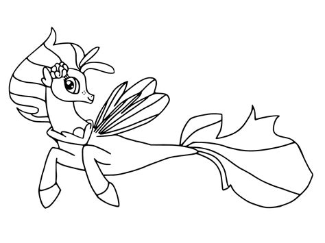 my little pony g4 coloring pages my little pony sea ponies coloring pages my little pony