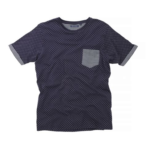 Polka Dot Sleeve T Shirt brave soul mens christi sleeve polka dot t shirt ebay