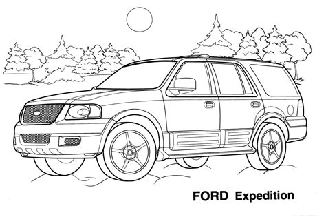 Car Coloring Pages Coloringpages4kidz Com Vehicle Coloring Pages