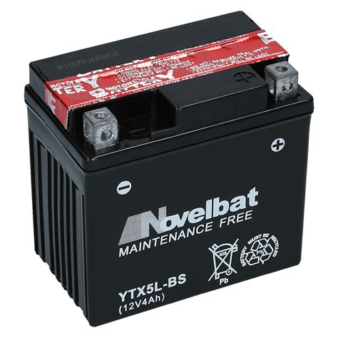 Motorrad Batterie Ctx5l Bs agm motorradbatterie ytx5l bs novelbat 50412 ctx5l bs