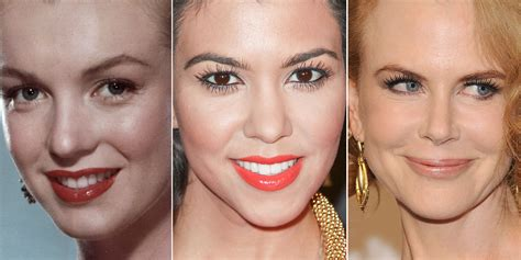 before and after widows peak 23 celebrity widow s peaks you never noticed huffpost