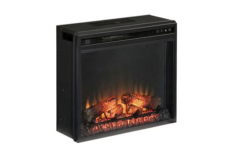 vinasville black electric fireplace insert