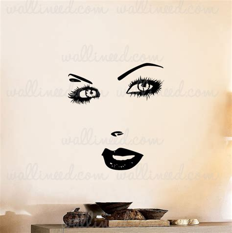 eye wall stickers wall decal
