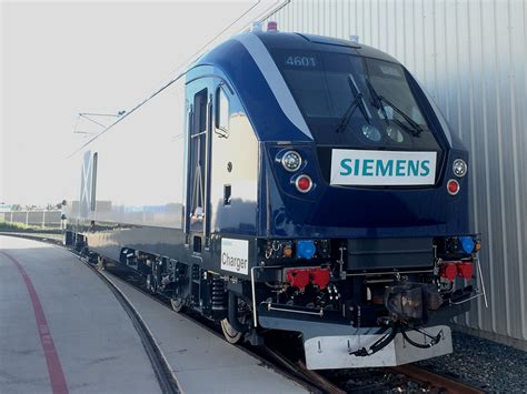 siemens charger siemens shows complete charger locomotive news
