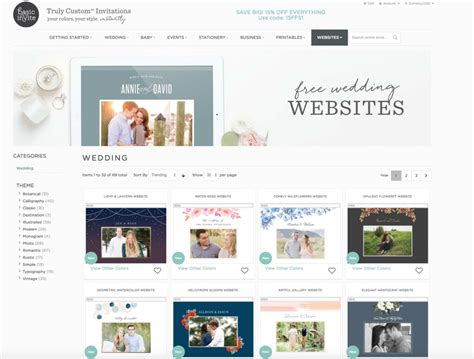 Wedding Website Reviews by We Review The Top 5 Free Wedding Websites To Use For Your