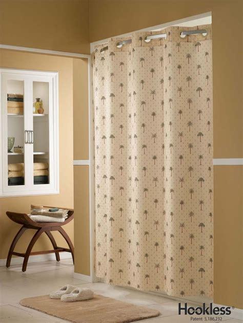 Tropical palm tree hookless 174 shower curtain master bathroom ideas pinterest