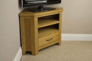Small Corner Drawer Unit Chelsea Oak Small Corner Tv Dvd Video Unit Stand With