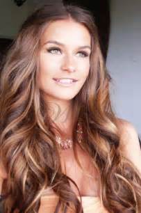 the best shoo for hair with highlight beautiful long curly hair with brown highlight lace front