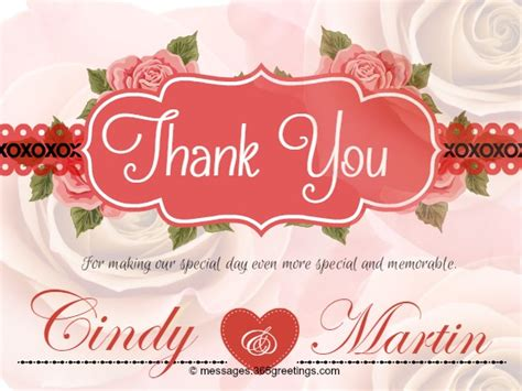 Wedding Blessings Wishes Sle by Thank You Msg For Wedding Anniversary Wedding Ideas 2018
