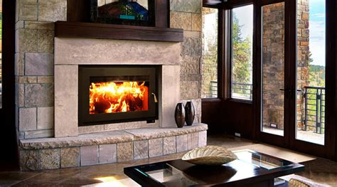 Built In Stove Fireplace by Choosing The Best Wood Stove Or Fireplace Green Home