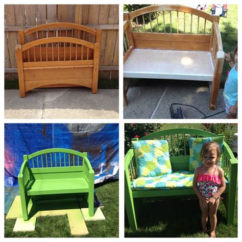 bed  bench twin bed headboard  footboard kids