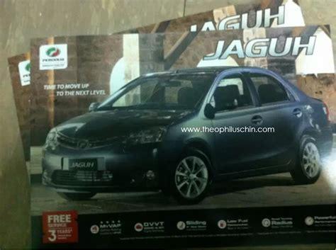 perodua bezza sedan toyota etios rival revealed malaysia meet the new perodua jaguh