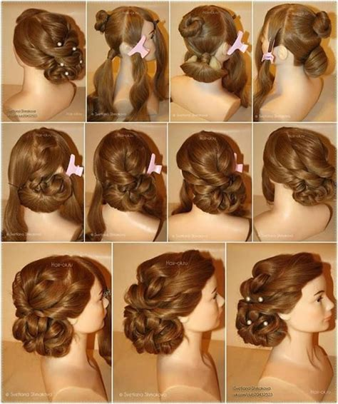 diy races hairstyles 17 best ideas about evening hairstyles on pinterest