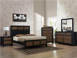 Brown Bedroom Suite chatham 6 bedroom suite in black and brown rustic