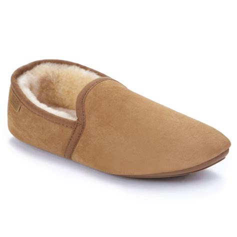 mens slippers mens garrick sheepskin slippers just sheepskin slippers