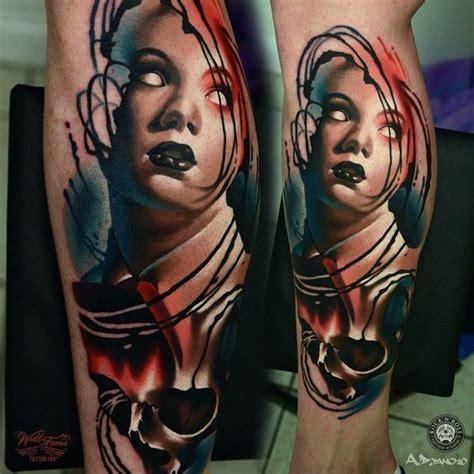 tattoo eye lady 40 jaw dropping portrait tattoos amazing tattoo ideas