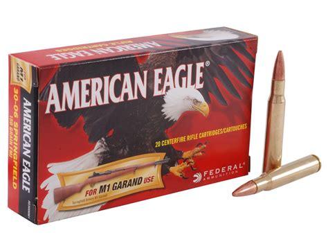 Hn Original 100 30gr federal american eagle ammo 30 06 springfield m1 garand 150 grain